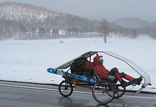 Велосипед на солнечной тяге