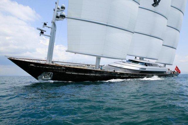 Самая большая яхта