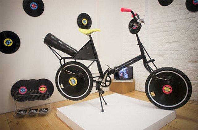 Велосипед - проигрыватель