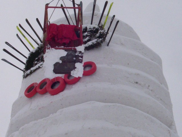 Снеговик рекордсмен