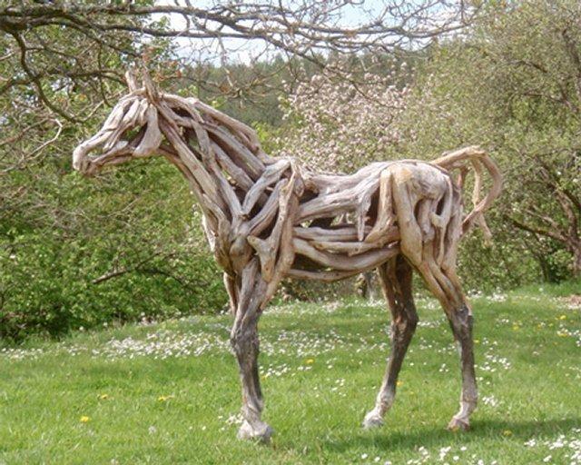 """Деревянные лошадки """" ALLDAY - народный сайт о дизайне"""