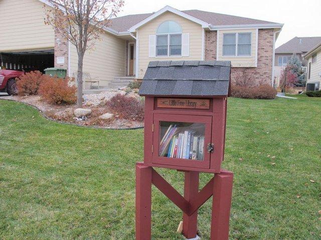 Маленькая общественная библиотека