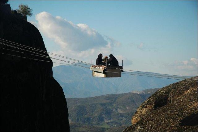 Монастырская канатка