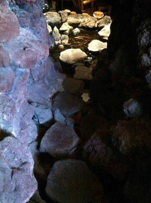 Пещера в подвале