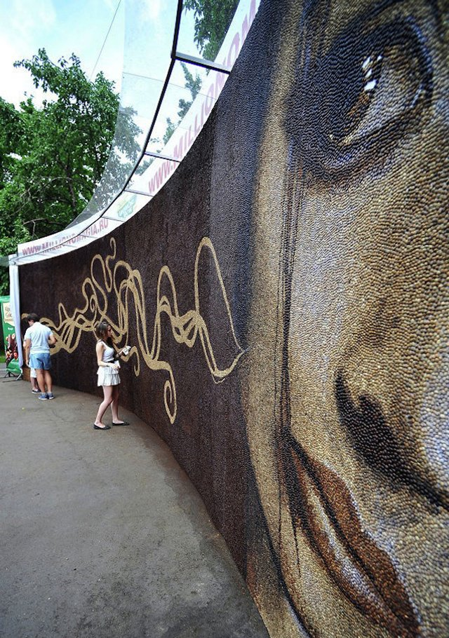 Кофейная фреска