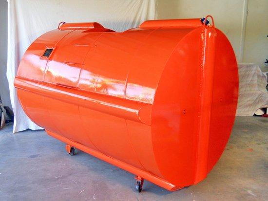 Спасательная капсула против цунами