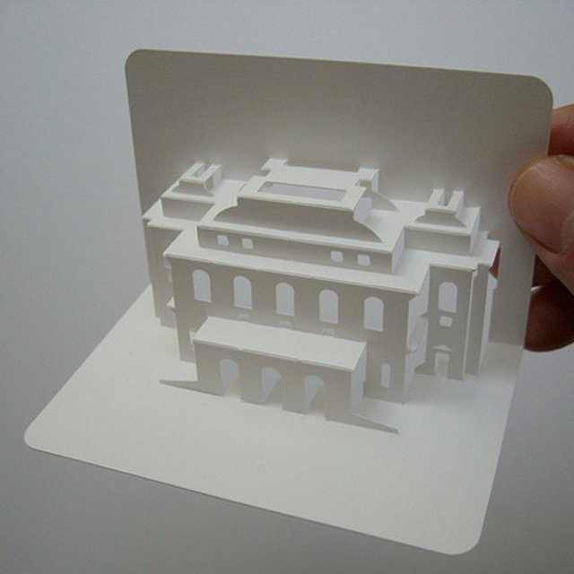 Визитки в 3D