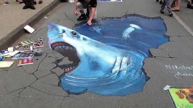 Street Art 3D, Николай Арндт
