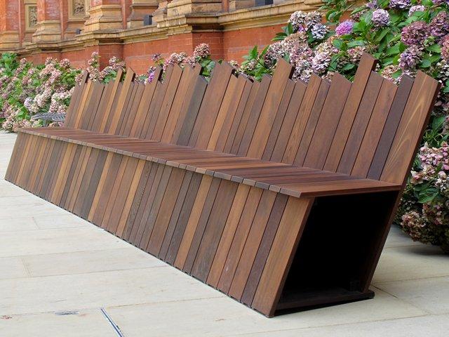 Дизайнерская скамейка